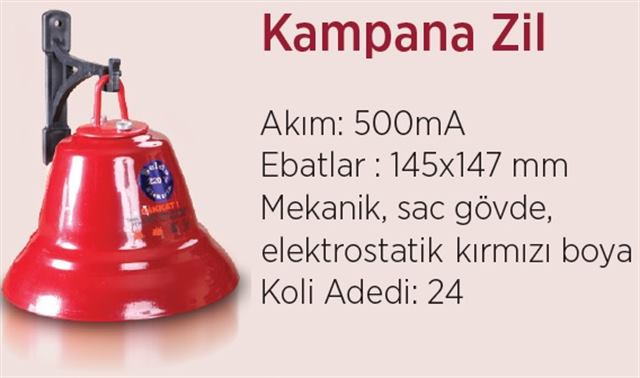 220v Kampana Zil Okul Çanı