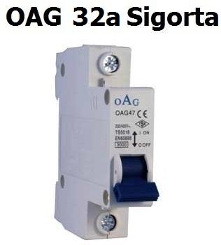 OAG 32 Amper Otomatik Sigorta