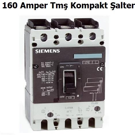 3VL1716 160 Amper Tmş Kompakt Şalter