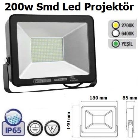 200w Smd Led Projektör