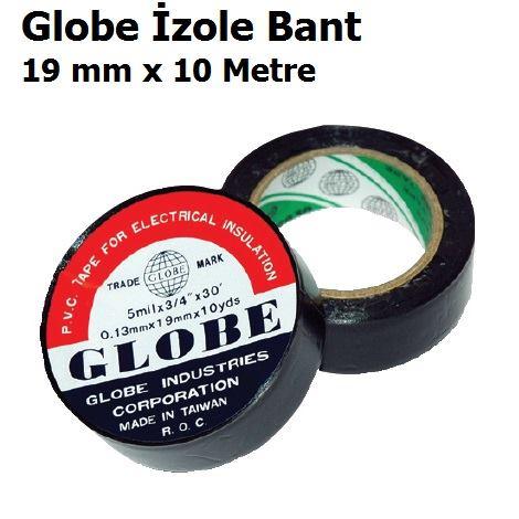 19 mm x 10 Metre Globe İzole Bant