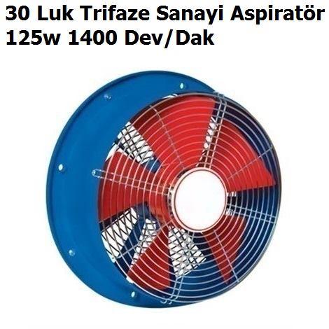 30 Luk Trifaze Sanayi Aspiratör Fiyatları