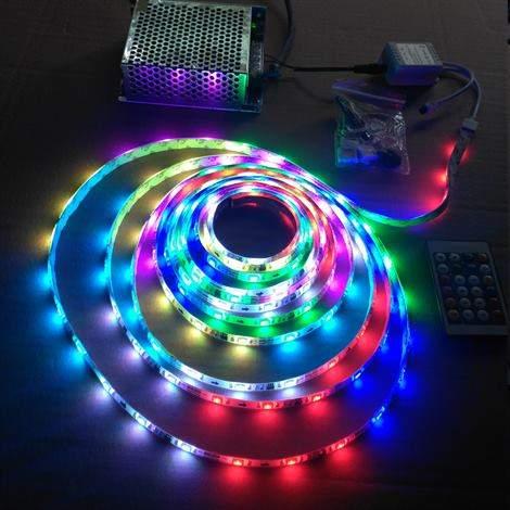 3 Çipli 5050 Dış Mekan Magic Multi Led 5 Metre