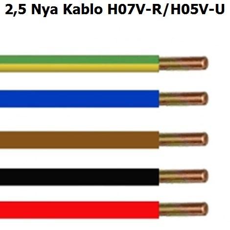 2,5 mm Nya Kablo
