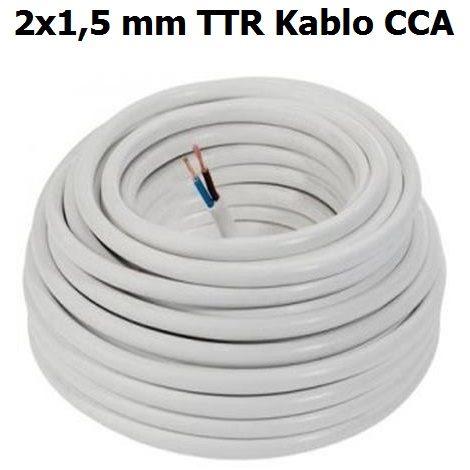 2x1,5 mm TTR Kablo CCA
