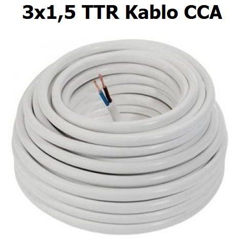 3x1,5 TTR Kablo CCA