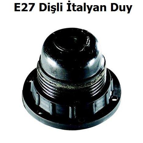 Far E27 Dişli İtalyan Duy