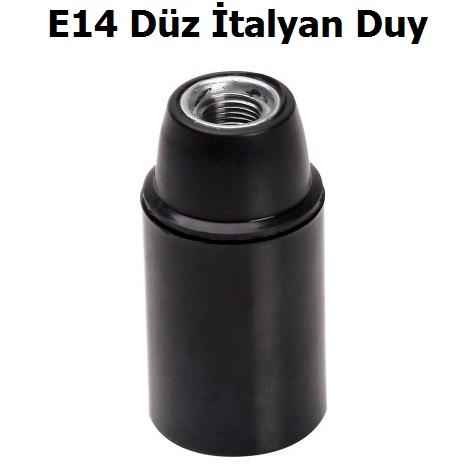 Far E14 Düz İtalyan Duy