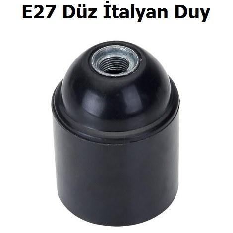 Far E27 Düz İtalyan Duy