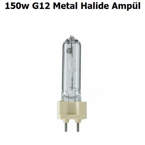150w G12 Metal Halide Ampül
