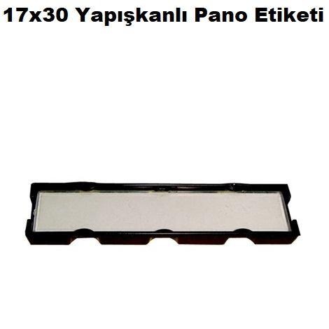 17x30 Yapışkanlı Pano Etiketi