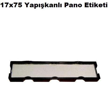 17x75 Yapışkanlı Pano Etiketi
