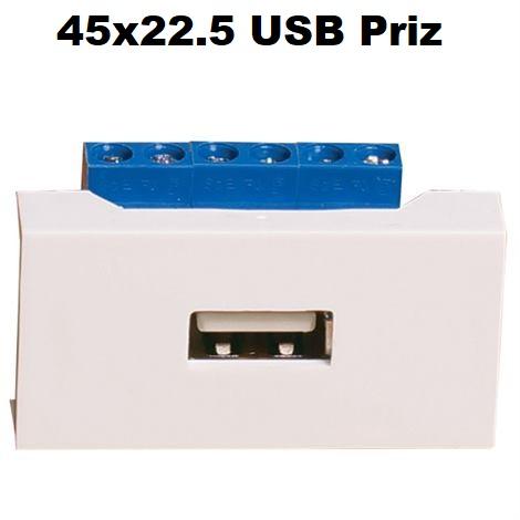 45x22.5 USB Priz