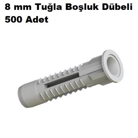 8 mm Tuğla Boşluk Dübeli