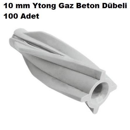 10 mm Ytong Gaz Beton Dübeli