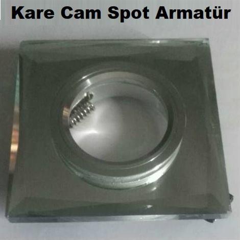 Kare Cam Spot Armatür
