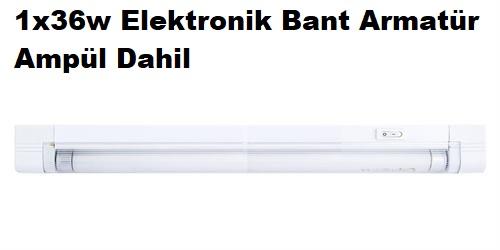 1x36w Anahtarlı Elektronik Bant Armatür