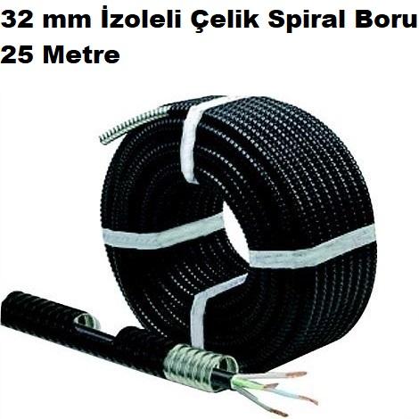 32 mm İzoleli Çelik Spiral Boru