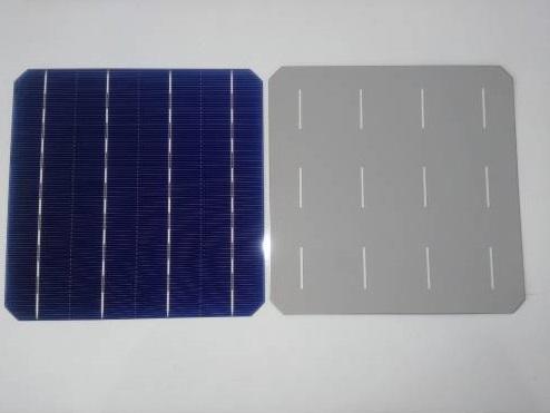 156x156mm 4.74w Güneş Paneli Hücresi Solar Pil