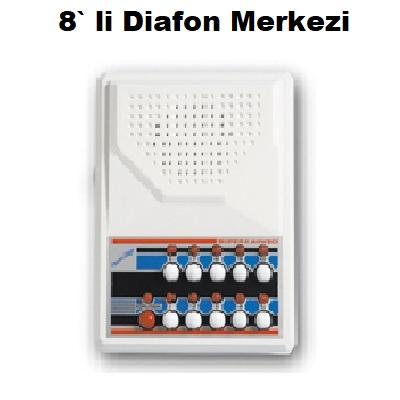 8` li Diafon Merkezi