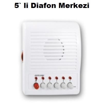 5` li Diafon Merkezi
