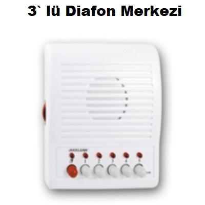 3` lü Diafon Merkezi