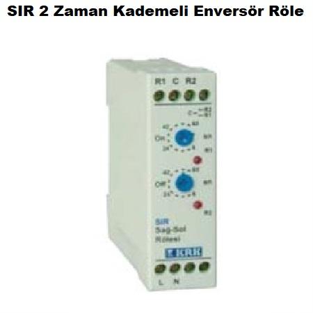 SIR-2 Zaman Kademeli Enversör Röle