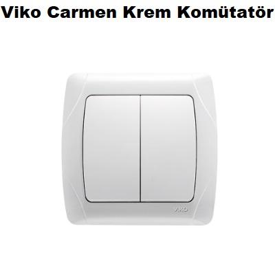 Viko Carmen Krem Komütatör