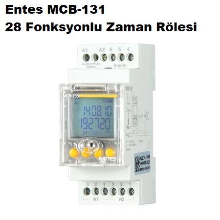 Entes MCB-131 28 Fonksyonlu Zaman Rölesi
