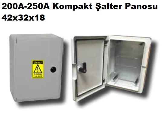 42x32x18 200A-250A Kompakt Şalter Panosu