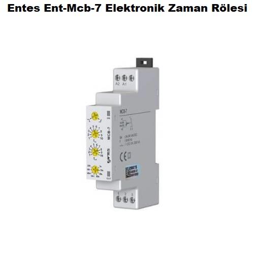 Entes Ent-Mcb-7 Elektronik Zaman Rölesi