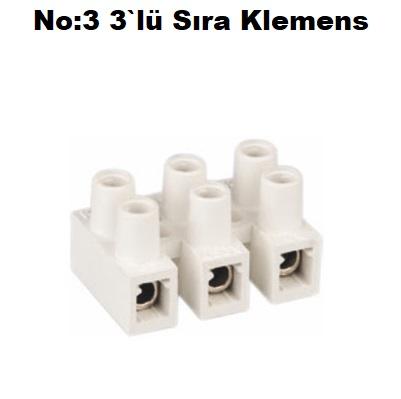No:3 3`lü Sıra Klemens