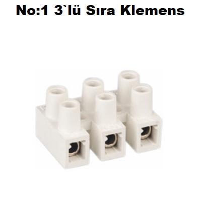 No:1 3`lü Sıra Klemens